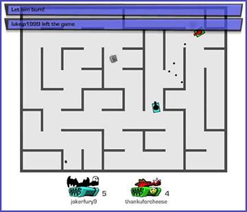 Tank Trouble Online